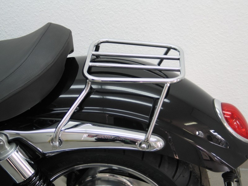 Triumph bonneville single seat and rack