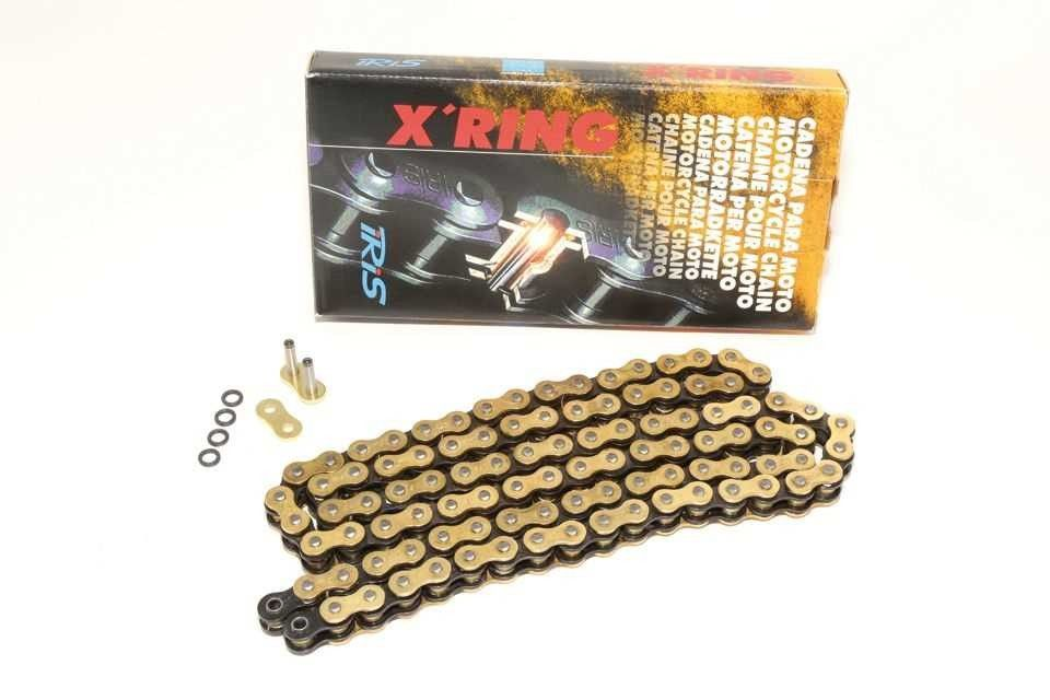 TRIUMPH Speed Triple 1050 IRIS X ring Gold Chain & Sprockets Kit