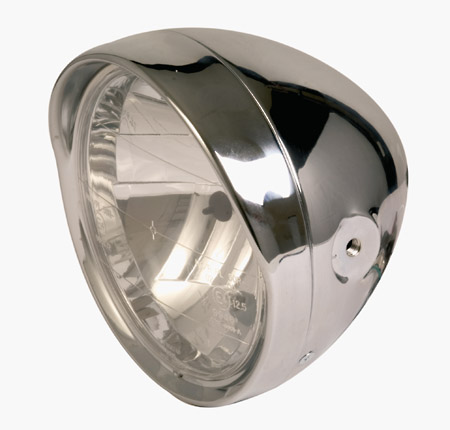 Classic Headlight 6 Amp 1 2 Inch With Visor