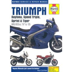haynes workshop manual triumph daytona speed triple sprint tiger rh squaredeals ltd co uk speed triple 2006 manual speed triple manual 1050