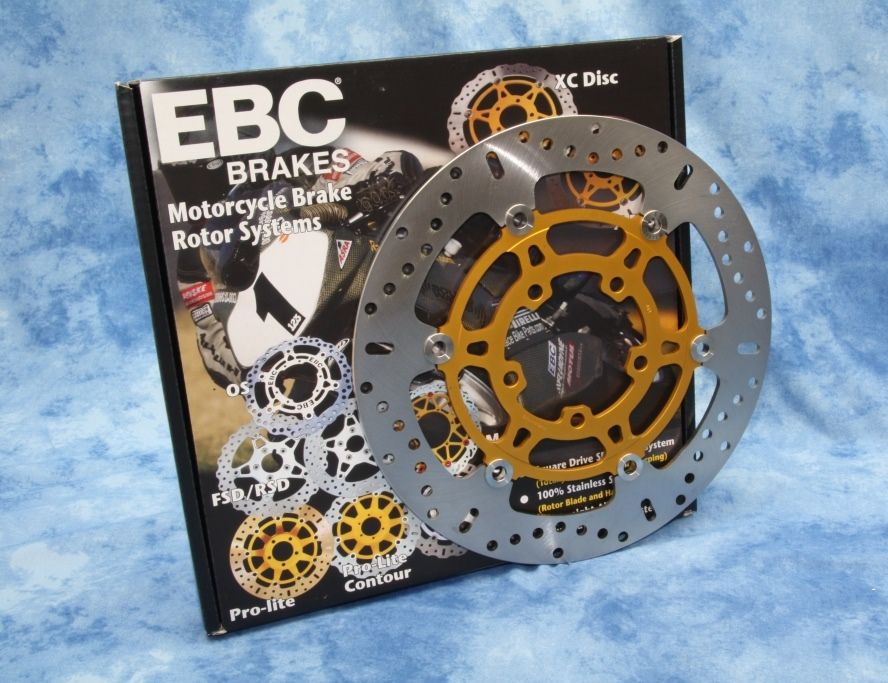 Tiger Explorer 1200 Ebc Front Brake Discs Pair Ebc Md842x Plus Free Titanium Disc Bolts Kbatuv