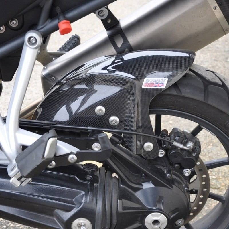 Tiger Explorer 1200xc Rear Hugger Carbon Fiber Skidmarx Upto