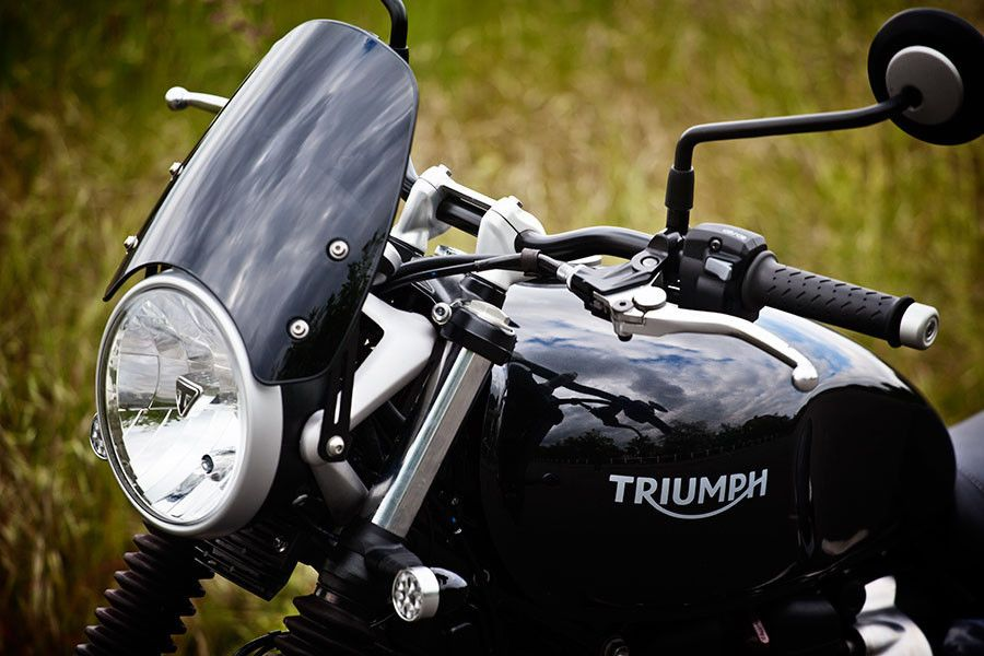 Triumph Thunderbird Commander >> TRIUMPH STREET TWIN - Classic Fly Screen 3 Tints Available