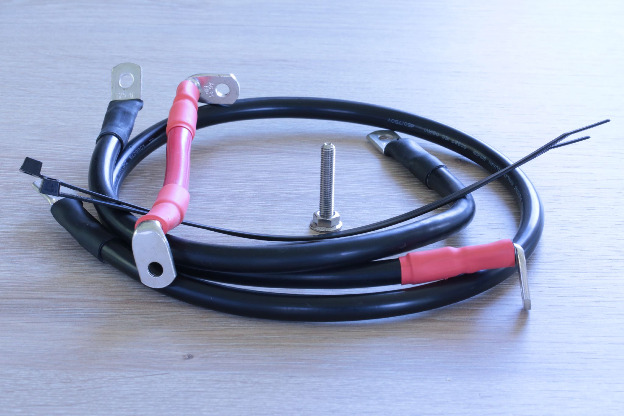 Triumph Tiger 1050 Se Starter Battery Cables Upgrade